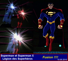 Fusion Superman et Superman X by VMJML1er