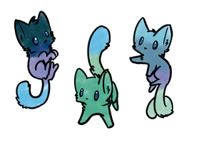 Cat Adopts ~ Open by FrostyFennec