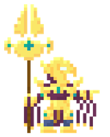 Azir pixelart by Six95
