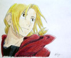 Edward Elric by TrebleKei