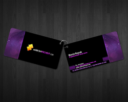 marcinprojekt business card by lukearoo