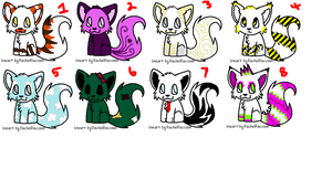 Free Kitty Adopts -OPEN- by thenextbest