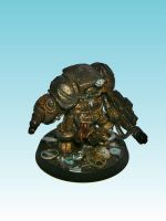 Unreleased Nurgle Terminator by nergling