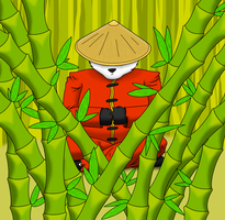 Wind Through The Bamboo by LazuliLupin