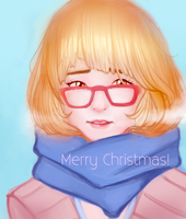 A Merry Christmas with Mirai! by ricehunta