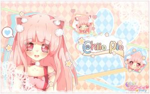 Chiio Pio Love - Pink hair project by RinaShuu