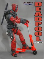 Deadpool Push on Scooter by Lokoboys