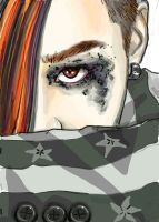 Phone drawing: G-dragon by Nevisse