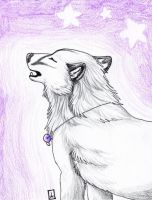 Violet Starlight by KaalKaal