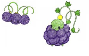 grapes - adopted by FrozenFeather