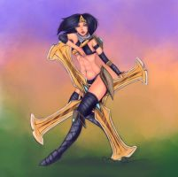 ::LoL:: Sivir by Neiths
