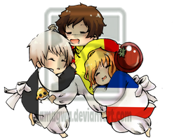 APH BTT babies- colored by lamagwa
