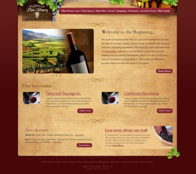 Plise winery by c-quence