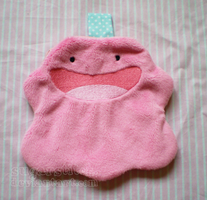 Pokemon: Ditto Zipper Pouch by sugarstitch
