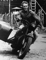 Great Escape Steve McQueen Paint By Number Kit by numberedart