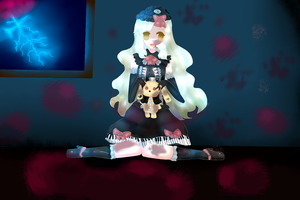 Mayu Vocaloid 3 Fan-Art by MitsukoBunny-chan
