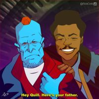 Lando and Yondu by RickCelis