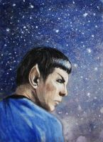 Spock by Ninquelen