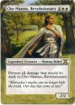 MTG altered card_Cho-Manno revolutionary by GhostArm1911