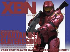 XBN: Mag Cover-SLAYERSSD08 by trent28o