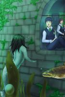 Albus Potter and the Siren of the Lake by AlbinoNial