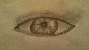 Realistic Eye Pratice by easterlil