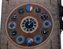 The wonderful clock by Vetriz