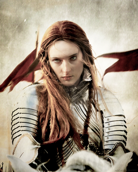 Sansa Stark Queen in the North by slothmaker