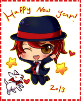 Happy New Year 2013 by Rugi-chan