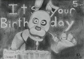 Happy Birthday from Freddy and the Gang by Kegrat