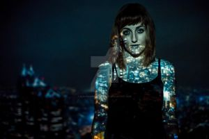 Projections (Model Four, Image One) by ejburnsphotography