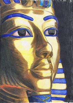 King Tutankhamun by MyWorld1