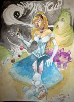 Alice in Wonderland by JeremyTreece