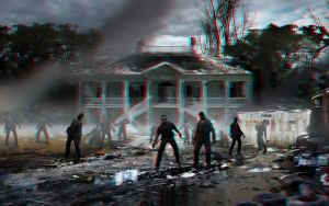 Zombies in your neighborhood 3-D conversion by MVRamsey