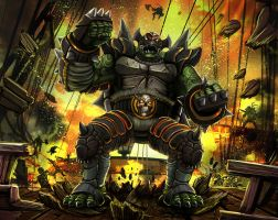 Craak the Turtle Brute by Delun