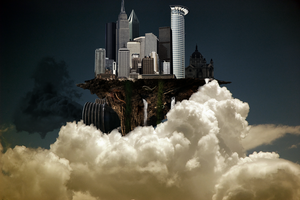 Flying City by cripp89