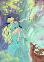 Ethereal Artbook: Mysterious forest by Fuwafuwa-Kuma