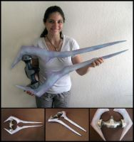 Halo Energy Sword 1:1 Replica / Prop by WispyChipmunk