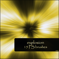 explosion brushes by szuia