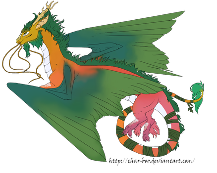 Flight Rising art commission by Char-Boo