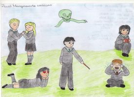 Young Slytherins by tonksgiuly