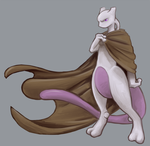 Mysterious Mewtwo by Phi8