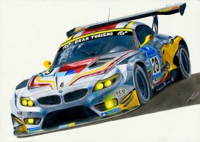 BMW Z4 GT3 by MGLola