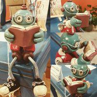 Professor Bot Bob now up for adoption by HerArtSheLoves