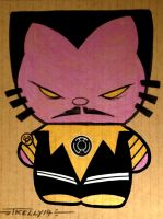 Sinestro kitty Fear his cuteness by TomKellyART