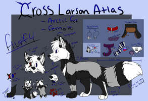 Cross Larson Atlas by wonderpups