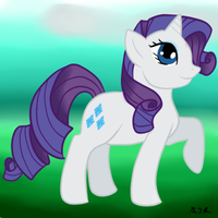 Rarity by Shadowfoxnjp