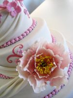 Detail Romantic Weddingcake by Naera