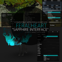 FH: Sapphire Interface (COMPATIBLE WITH FH 1.15) by CrypticFeline