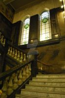 State Library - Staircase by darkened-storm